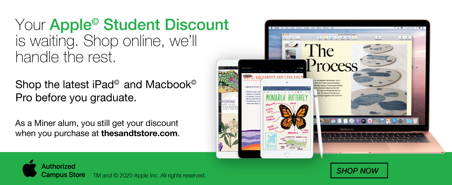 Shop Apple with your academic discount
