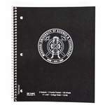 Missouri S&T Seal Three-Subject Notebook