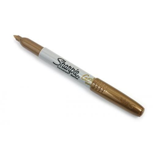 the s t store metallic gold fine point sharpie permanent marker