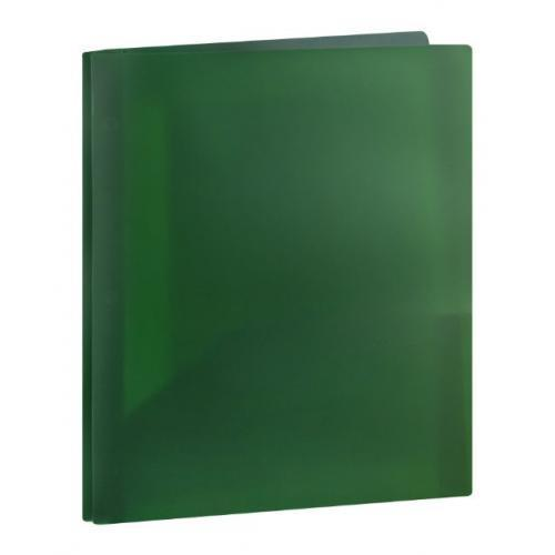 the s t store assorted colors top flight poly folder with prongs