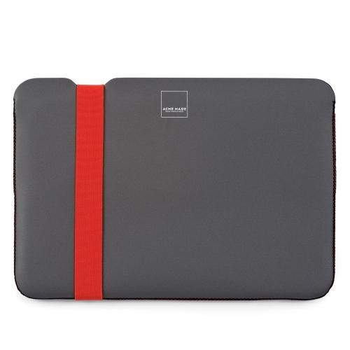 "Acme 12"" Orange & Grey Laptop Sleeve"