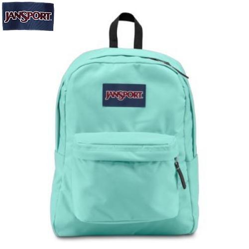 JanSport Superbreak Aqua Dash Backpack Black
