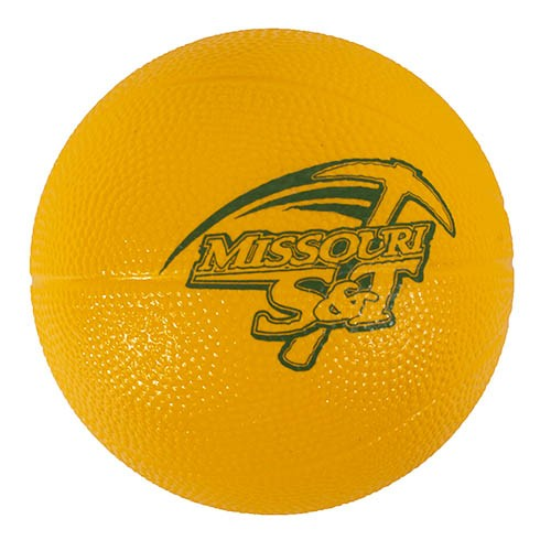 Missouri S&T Green & Gold Mini Foam Basketball