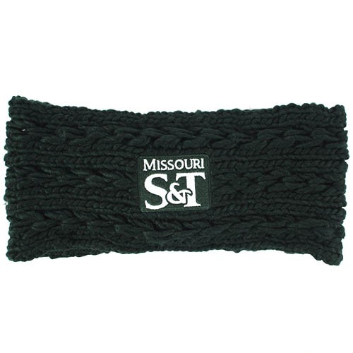 Missouri S&T Dark Green Knit Headband