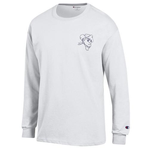The S T Store Missouri S T American Flag White Crew Neck Shirt