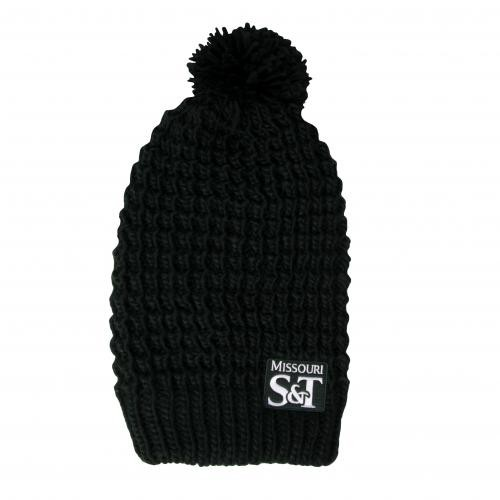 The S T Store - Missouri S T Green Beanie with Pom 896f6bcc048