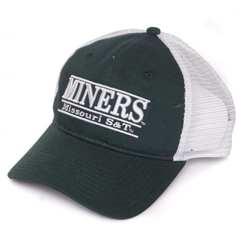 The S T Store - Missouri S T Miners Green   White Trucker Hat 109cc2fb770