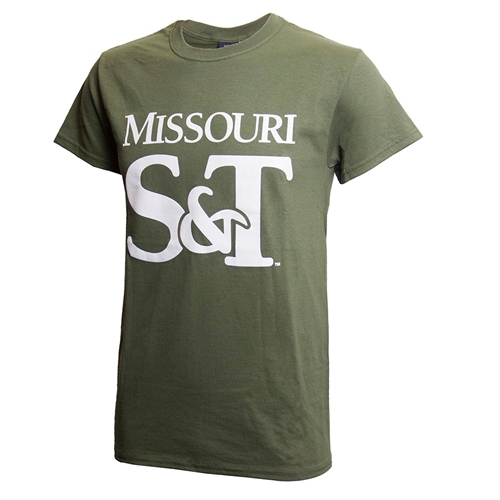 Missouri S&T Olive Green T-Shirt
